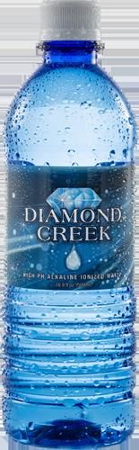 "Drinking alkaline water is one of the most important rules on my Grateful 8 list. By far, my favorite alkaline water is Diamond Creek or ""Nature's Energy Drink"". The list of health benefits is long, but the taste is what really gets people hooked on this water!"