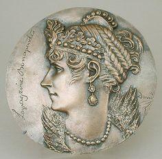 Josephine Bonaparte (née Tascher de la Pagerie), 1st wife of Napoleon I. Pierre Jean David d'Angers  (French, Angers 1788–1856 Paris)  Date:     19th century Culture:     French Medium:     Bronze, cast