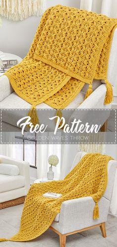 Tan Tiles Throw Afghan Vanna Crochet Pattern//Instructions Leaflet NEW RARE