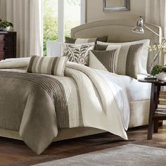 Madison Park Amherst 7 Piece Comforter Set | Wayfair
