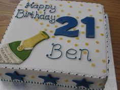Unique Birthday Cakes for Men | And last but not least, a 21st birthday cake for Ben