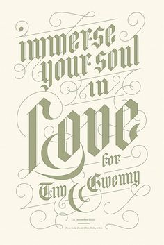 Jessica Hische Tim in Designspiration. The nurse your soul in love quotes