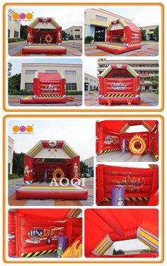 Aoqi Inflatables Ltd.-one of the most professional inflatable games factories in China, is engaged and specialized in designing and manufacturing inflatable games,advertising inflatables ect. Public Hotel, Inflatable Bouncers, Bouncy House, Funny Toys, School Parties, Fire Department, Amusement Park, Firefighter, Special Events