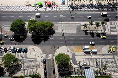 Avenida Atlántida. Copacabana. Rio de Janeiro. Brasil. Roberto Burle Marx. 1970.