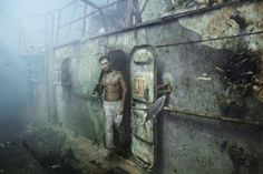 Artworks on USS Mohawk, an exhibition of Andreas Franke