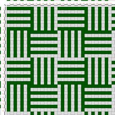 draft image: Weave No. 18 (b), A Treatise on Designing and Weaving Plain and Fancy Woolen Cloths, A. A. Baldwin, 2S, 2T