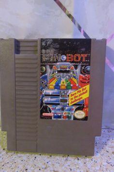 NES Pinbot (Nintendo Entertainment System, 1990) Pinball Game Cartridge Only