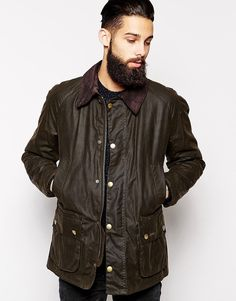 The iconically british Barbour jacket will be one of your best investments this season. Take a look at some of the best menswear styles from the Barbour. Barbour Jacket Mens, Barbour Ashby, Waxed Cotton Jacket, Daytime Outfit, Wax Jackets, Stylish Mens Outfits, Country Fashion, Sharp Dressed Man, Sports Jacket