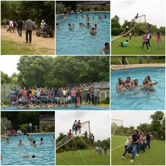 Life At Eli, Eli India -  On 26th July, 2017, AAPC didn't have just another Wednesday, but a Funday… A day where it was all about fun, games and building the bond together at an amazing resort at the outskirts of Gurgaon at Botanix Farm. Grooving along with a wonderful weather, the AAPC team had some gala time trying their hands at RTVs, cricket, volleyball, tug of war, dumbcharades and last but not the least experiencing the relaxed and soothing nature in a swimming pool. Gala Time, Tug Of War, Fun Games, Good Day, Volleyball, Cricket, Wednesday, Bond, Swimming Pools