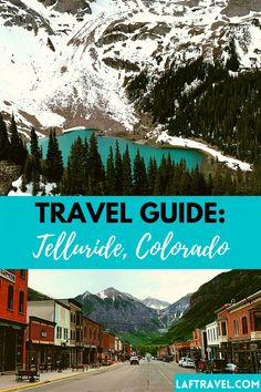 Your ultimate weekend guide to Telluride Colorado: Best things to do in Telluride, where to stay, where to eat, best hikes, Ouray, Million Dollar Highway Solo Travel Tips, Travel Blog, Asia Travel, Travel Usa, Colorado Springs, Ouray Colorado, Colorado Hiking, Cool Places To Visit, Places To Travel