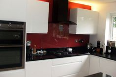 Remo Gloss White Kitchen - http://www.diy-kitchens.com/kitchens/remo-gloss-white/details/