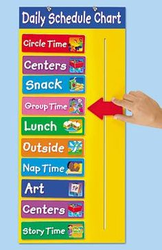Creating a Visual Schedule for your preschool, pre-k and kindergarten students is extremely important! When students know what to expect it helps them feel safe. When children feel safe, amazing learning can happen! Get these visual schedule cards FREE Daycare Schedule, Preschool Schedule, Preschool Learning, Preschool Activities, Teaching, Community Activities, Class Schedule, Toddler Schedule, Preschool Room Decor