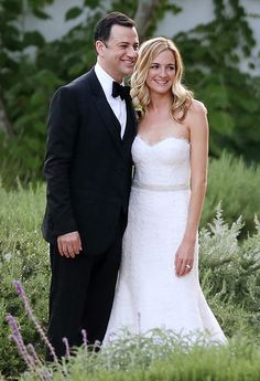Jimmy Kimmel married Molly McNearney, a co-head writer on Jimmy Kimmel Live, on Saturday, July 13, 2013, in a star-studded wedding in Ojai, CA