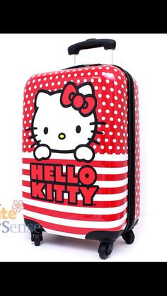 Hello Kitty travel luggage