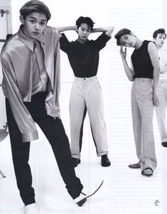 Lucas, doyoung, Jaehyun and Mark Nct 127, Kpop, Kim Jung Woo, Nct Dream Jaemin, Lucas Nct, Vogue Korea, Mark Nct, Jung Jaehyun, Na Jaemin