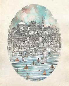 Opal City by David Fleck