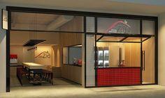 paula gusmão arquitetura _ zio pizza (parceria com a Salles Arquitetura) _ fachada www.paulagusmao.com