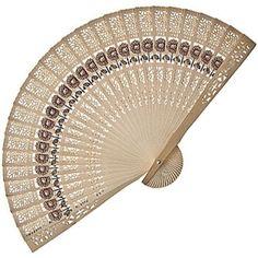 Sunflower Sandalwood Hand Fan