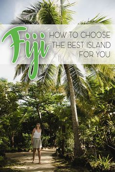 Planning a honeymoon, romantic gateway, diving holidays or eco-friendly stay in Fiji? Find out which island suits best your Fiji vacations.