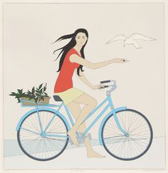 Will Barnet, The Blue Bicycle