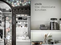 Chök the chocolate kitchen by espluga+associates & Intsight, Barcelona   Spain chocolate store