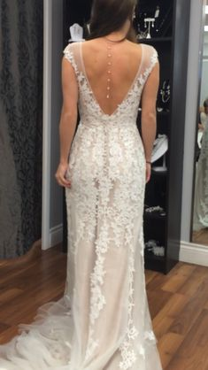 Found my frock, clueless on how to bustle/accessorize? (Maggie Sottero Lucinda) - Weddingbee