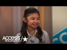 'America's Got Talent': Angelica Hale Reveals How Her Mom Saved Her Life   Access Hollywood - YouTube