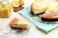 Gâteau au fromage blanc, spéculoos et citron