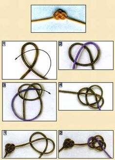 Double coin knot perfect for a friendship bracelet or a present