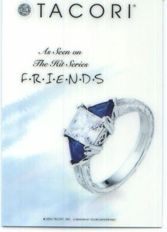 This Is The Ring That Chandler Proposed To Monica With He