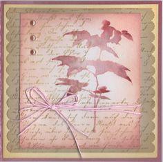 Distress Ink Card