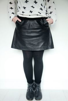 Leather Skirt With Pockets | Jill Dress