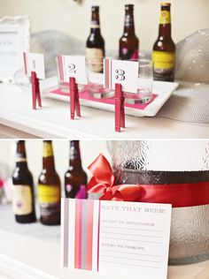 Beer & Bras Bachelorette... Love these ideas!