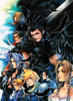 Final Fantasy Crisis Core Wallpaper