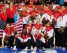 The U.S. women's basketball team winning its fourth consecutive gold medal while running its winning streak in the Olympics to 33 games. - 2008 Bejing Olympics - photo from SL.com