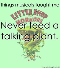 Little Shop of Horrors. I looooove this musical! Broadway Theatre, Musical Theatre, Broadway Plays, The Rocky Horror Picture Show, Little Shop Of Horrors, Theatre Nerds, About Time Movie, Love Movie, New People