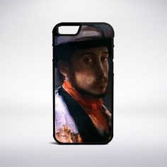 Edgar Degas - Self-Portrait In A Soft Hat Phone Case – Muse Phone Cases