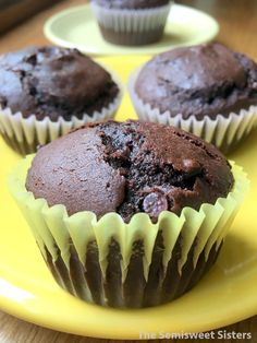 Best Double Chocolate Chip Muffins