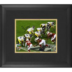 """Ben Roethlisberger Pittsburgh Steelers Fanatics Authentic Framed Autographed 8"""" x 10"""" Under Center Photograph"""