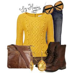 """Walk in the Leaves"" by liz-higgins on Polyvore"