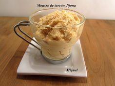 Les receptes del Miquel: Mousse de turrón Jijona