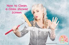 How to Clean a Glass Shower Screen | Stay at Home Mum