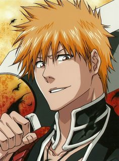 Looking for information on the anime or manga character Ichigo Kurosaki? On MyAnimeList you can learn more about their role in the anime and manga industry. Anime Bleach, Rukia Bleach, Manga Anime, Fanarts Anime, Anime Art, Ichigo Kurosaki Wallpaper, Ichigo E Rukia, Bleach Characters, Manga Characters