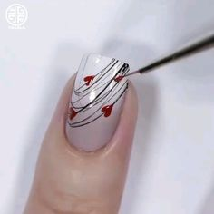 nail art tutorial / nail art designs _ nail art _ nail art designs for spring _ nail art videos _ nail art designs easy _ nail art designs summer _ nail art diy _ nail art tutorial Glitter Nail Art, Gel Nail Art, Nail Art Diy, Diy Nails, Ombre Nail Art, Rose Nail Art, Heart Nail Art, Acrylic Nails, Nail Art Designs Videos