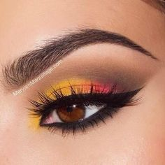 How stunning is this look from @Maryam Maquillage !! She used our Hot Singles eye shadow in Butterscotch, as well as our Adorable and Sex Bomb palettes, and The Curve liner. Double tap if you love it too!! #nyxcosmetics #nyx #makeup #motd