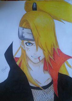Naruto Deidara #elykyo   https://elykyo.deviantart.com