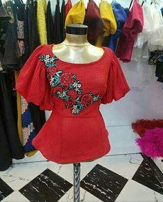 African Attire, African Wear, African Dress, Ankara Peplum Tops, Ankara Dress Styles, African Blouses, African Tops, African Fashion Ankara, Ghanaian Fashion