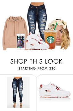 """""""63"""" by jaliyahk ❤ liked on Polyvore featuring NIKE"""