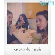 Photos: G Hannelius, Kayla Maisonet And Taylar Hender Having Lunch Together January 26, 2014