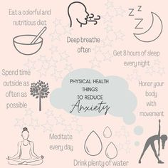 If you're not doing all of these physical health strategies for reducing anxiety, you are missing out on so many healthy and happy opportunities! I teach to this in the Anxious to Abundance mini course! Which do you do best?